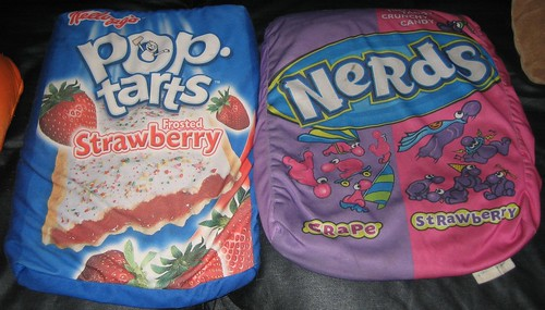 20100814 - yard sale microbead pillows - Pop Tarts & Nerds - LOOK FOR THE GAY NERDS - IMG_2217