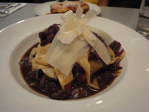 Pappardelle with ox cheek ragu