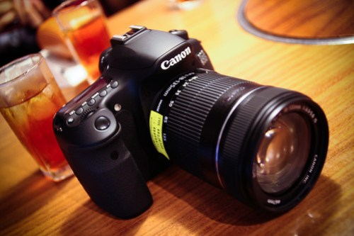 Canon EOS 60D Touch & Try !