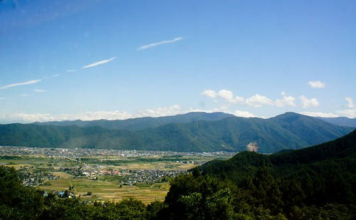 leaving togura towards matsumoto