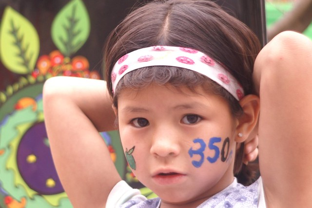 A girl in Cochabamba, Bolivia reminds us what the stakes are in the fight to solve the climate crisis.