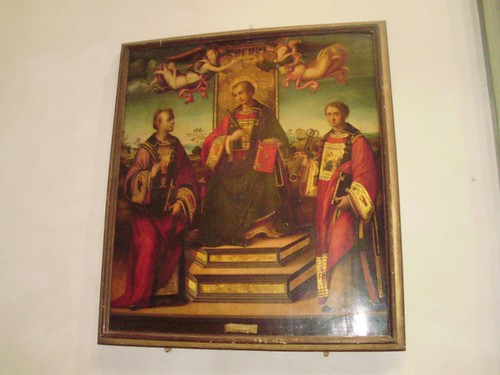 San Lorenzo Santi Stefano e Leonardo Raffaellino del Garbo.