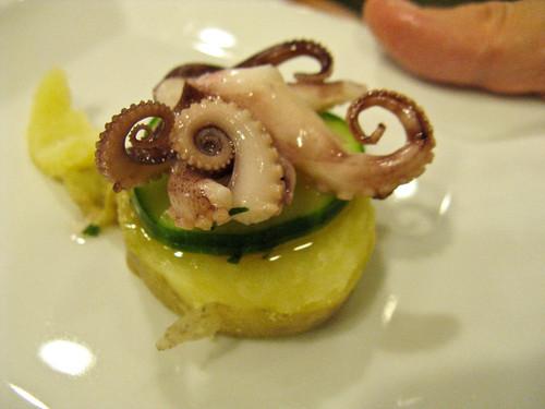 octopus tapa