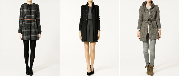 coats via zara.com