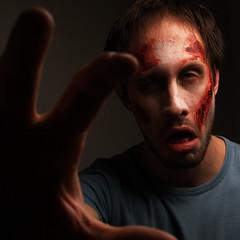 Zombie selfportrait