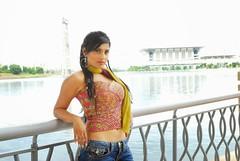 Indian Actress Ramya Hot Sexy Images Set-2  (84)