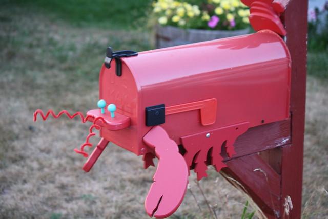 Lobsta mailbox