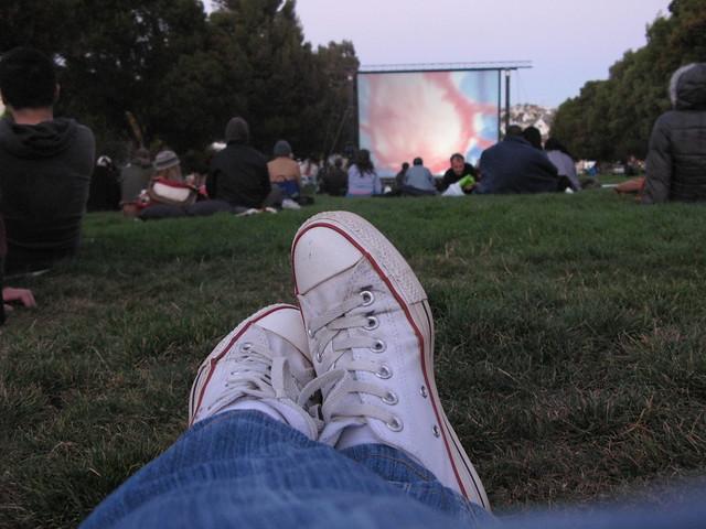 Bernal Heights Outdoor Cinema @ Precita Park