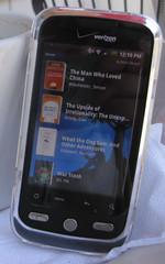 Kindle on My Phone