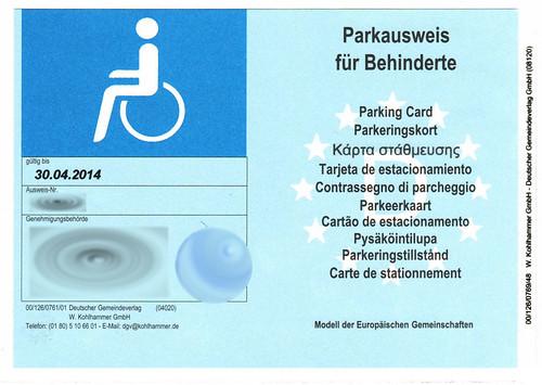 Parkausweis