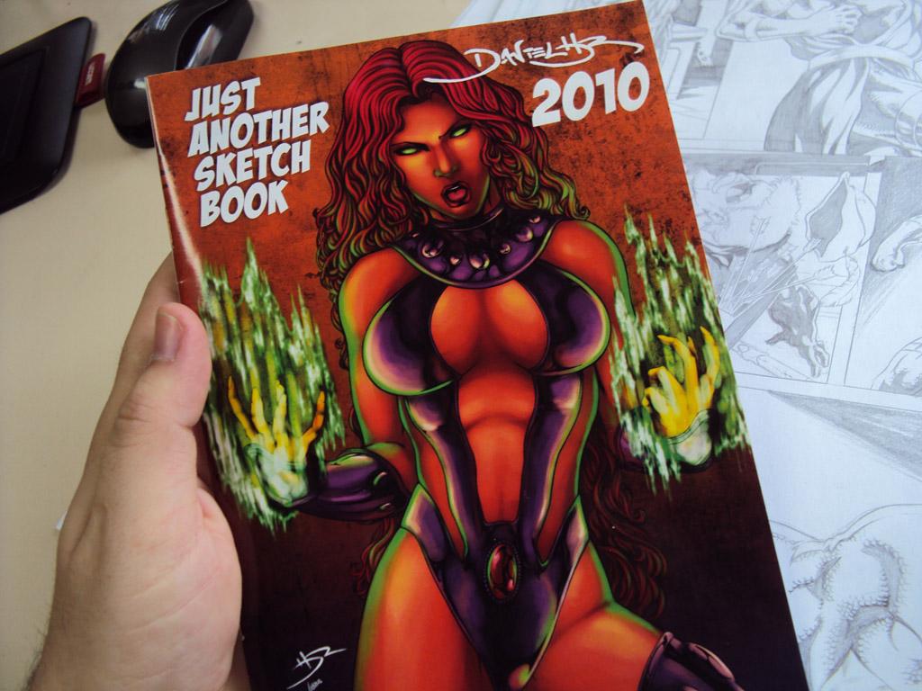 My 2010 Sketchbook
