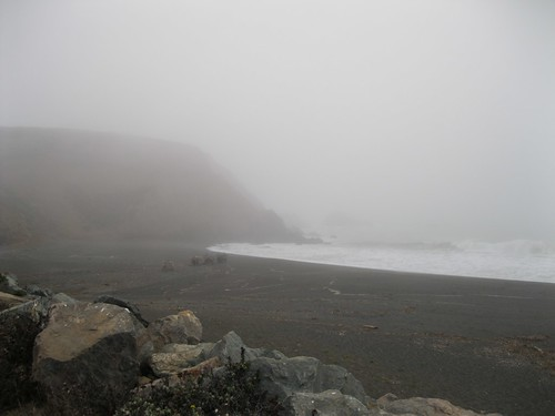 Mori Point in September Fog