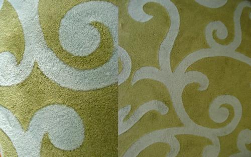 clean rug after Soak
