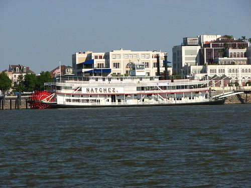 steamer natchez (side)