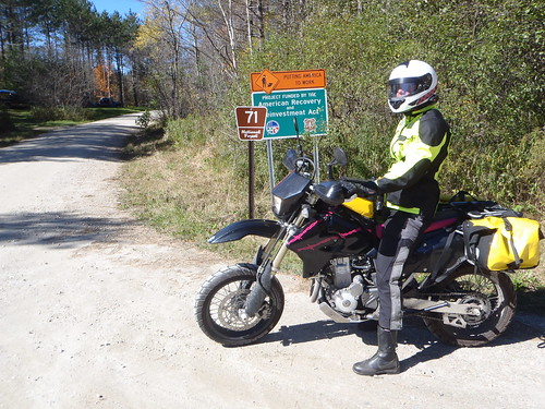 Olympia AST jacket, FirstGear TPG Escape pants, Oxtar boots in Vermont