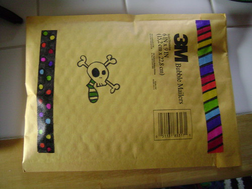 DIY Deco Tape - Decorate a package