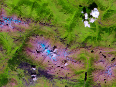 Central Pyrenees (NASA, ASTER, Terra, 08/01/00)