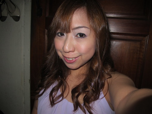 Singapore Lifestyle blog, beauty, curled hair, millys