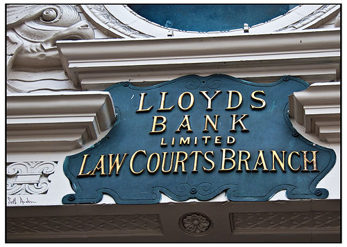 Lloyds Bank Ltd Law Courts Branch