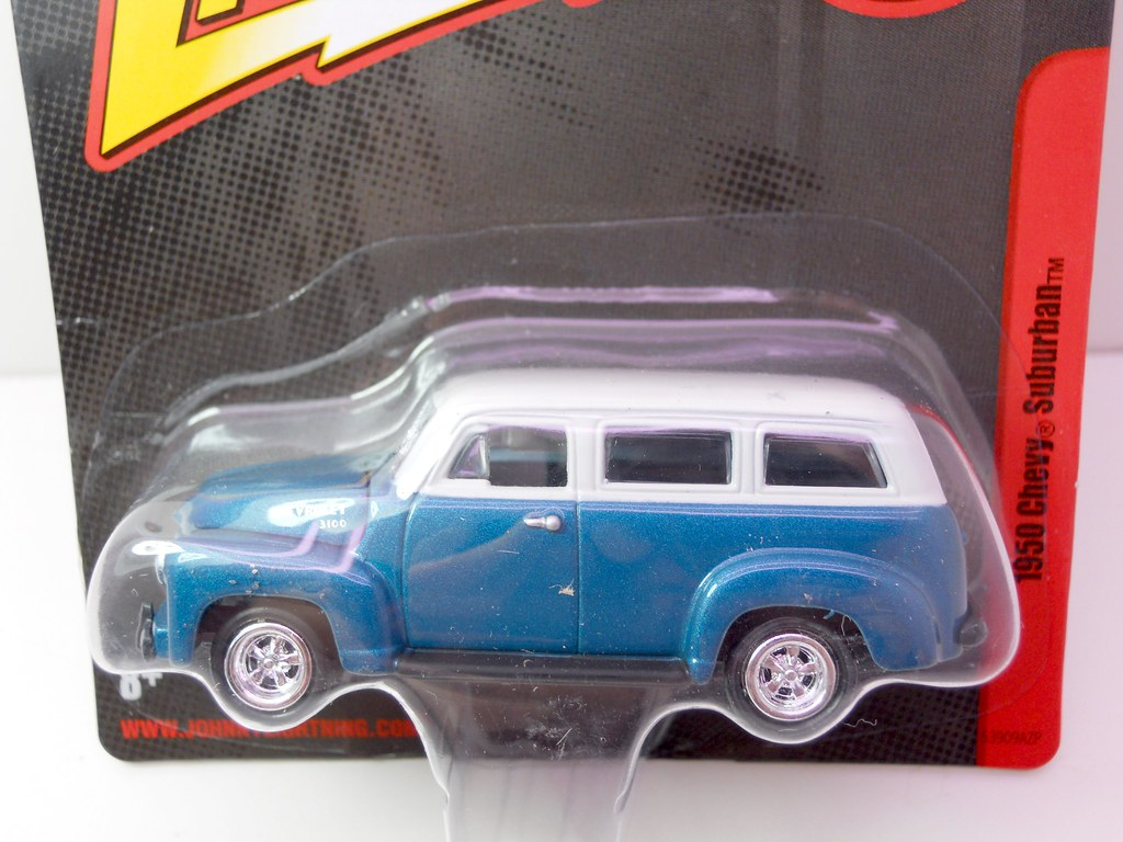 johnny lightning 1950 Chevy Suburban (2)
