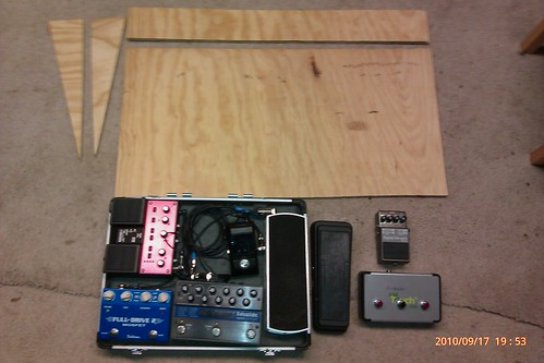 Pedalboard step one