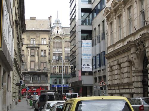 Streets outside hostel
