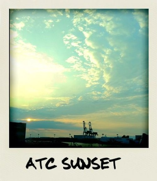 ATC Sunset