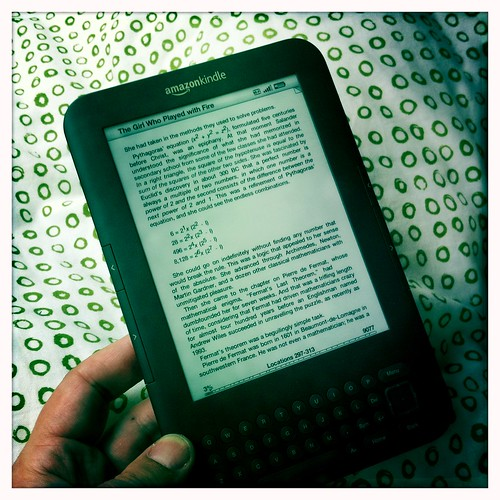 Pretty happy with my birthday Kindle for reading books