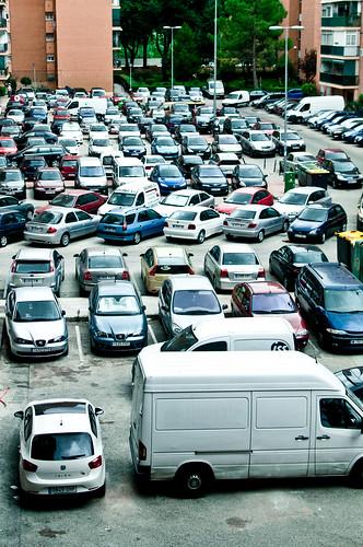 ¿Problemas de aparcamiento?