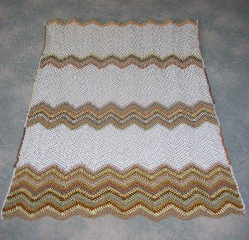 Mum's Crochet Afghan