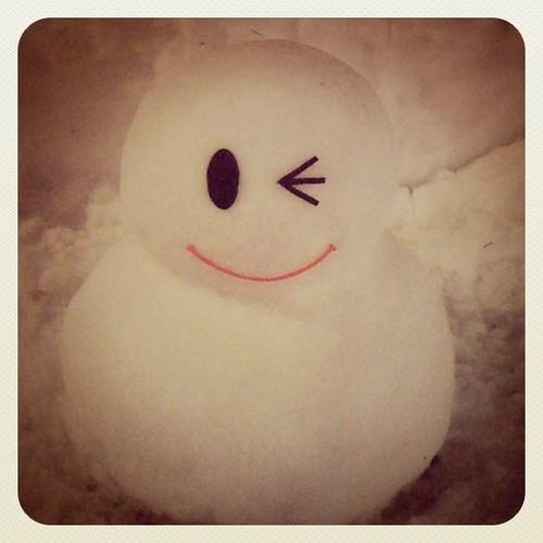 ウェルカム雪だるま3