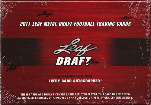 2011 Leaf Metal Draft box