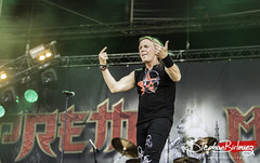 Ronnie Atkins - PRETTY MAIDS @HELLFEST 2017