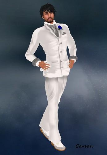Ero Rabbi---White Tuxedo