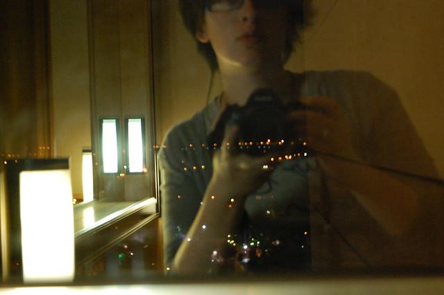 self-p. in hotel room