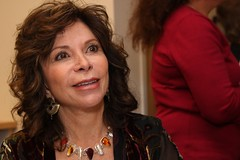 Isabel Allende at Fromm Hall, USF.