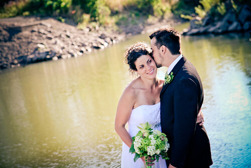 By the river, Cottonwood Island Park, Prince George Wedding Photos