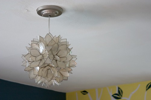 that glorious light fixture