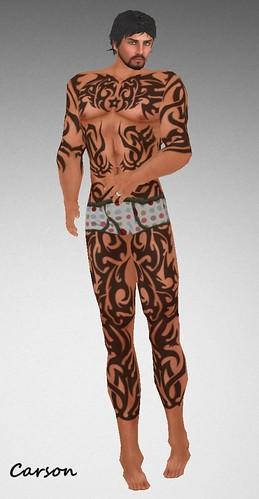 MHOH4 # 57 - MORTALITY Tribestar Tattoo
