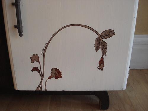 Wildflower Sideboard right detail