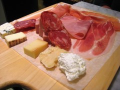 Eataly NYC - Meat & Cheese Board, Oct. 5, 2010