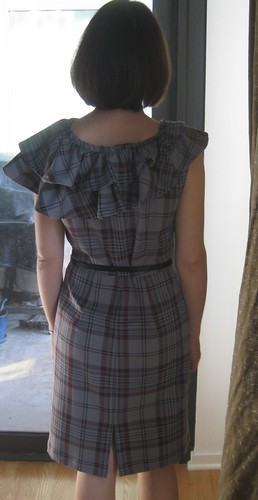 Ruffle Dress Finished Back