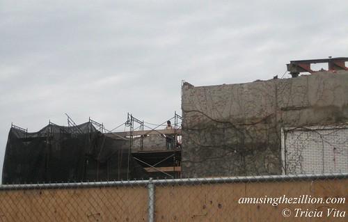 Bank of Coney Island Demolition. November 17, 2010. Photo © Tricia Vita/me-myself-i via flickr