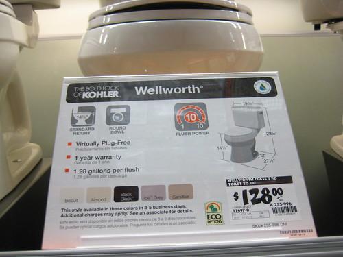 Wellworth Kohler toilet