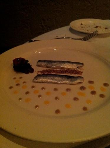 marinated fresh sardines