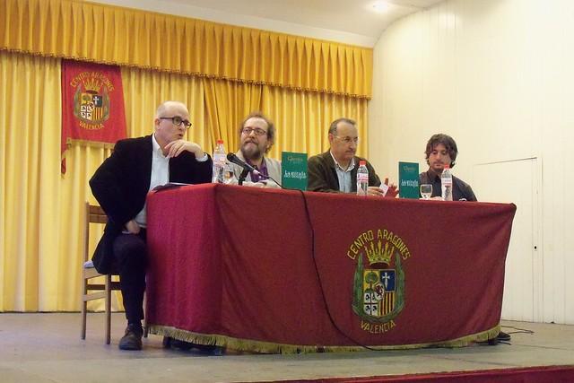 Presentación de 'La mirada del bosque' de Chesús Yuste en Valencia