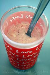 101. Milkshake de morango