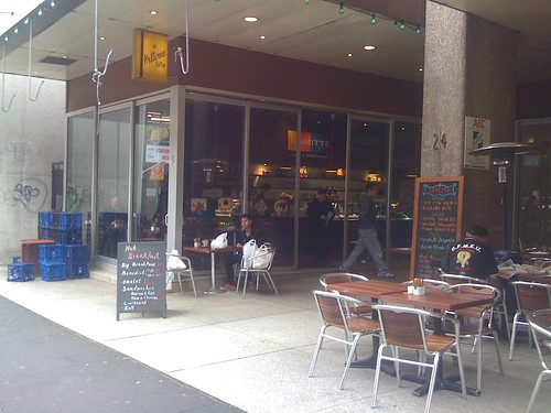 Lamitte cafe and restaurant, Sydney CBD