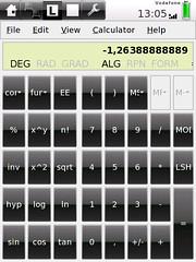Galculator on SHR