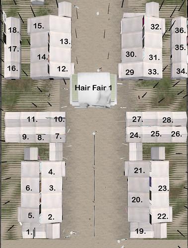 Hair Fair 1 Map